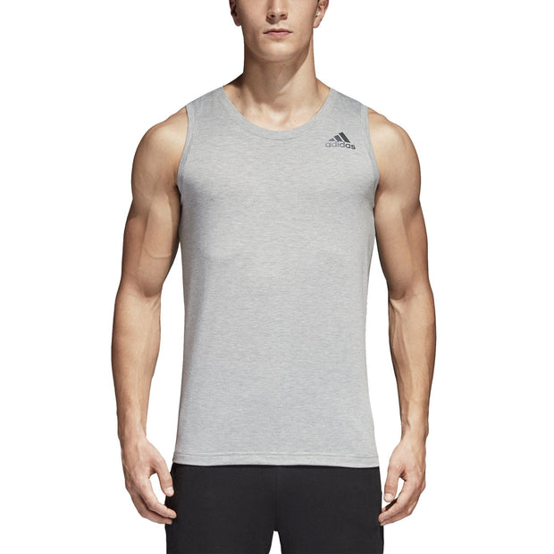 ADIDAS MEN'S TRAINING PRIME GREY TANK TOP - INSPORT