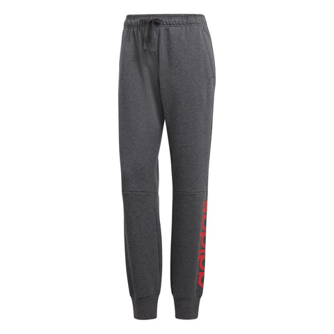 ADIDAS KID'S LINEAR SWEAT GREY PANTS