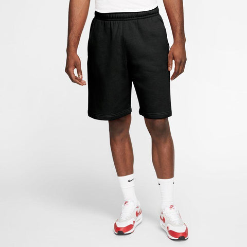 NIKE MEN'S SPORTSWEAR JDI BLACK FLEECE SHORTS