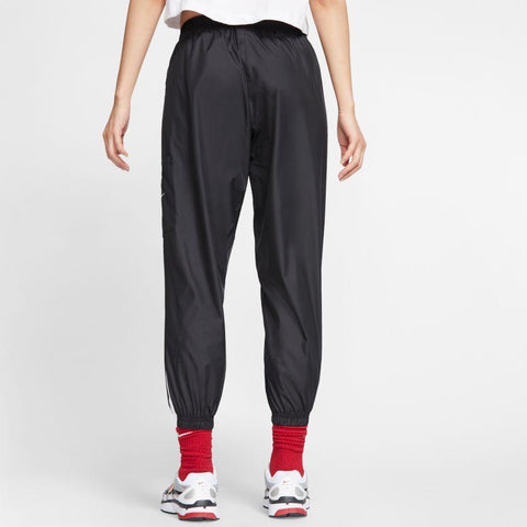 NIKE WOMEN'S SPORTSWEAR BLACK WOVEN PANTS
