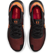NIKE MEN'S LEGEND REACT 3 BLACK/ORANGE RUNNING SHOE