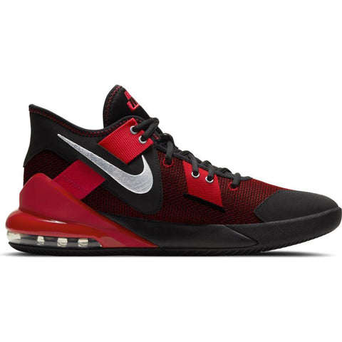 NIKE MEN'S AIR MAX IMPACT 2 BLACK/RED BASKETBALL SHOE