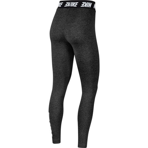 NIKE WOMEN'S SPORTSWEAR CLUB BLACK HIGH-RISE TIGHTS