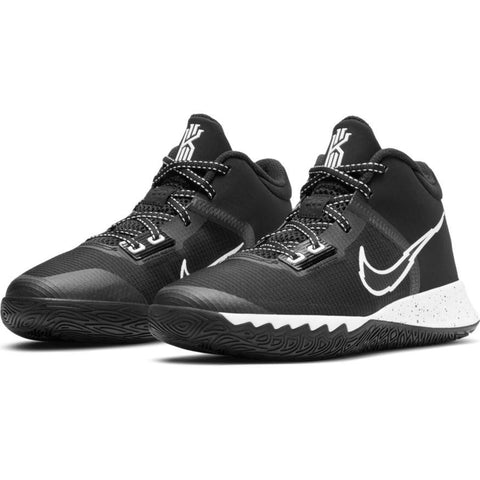 NIKE JUNIOR KYRIE FLYTRAP 4 BLACK/SILVER BASKETBALL SHOES