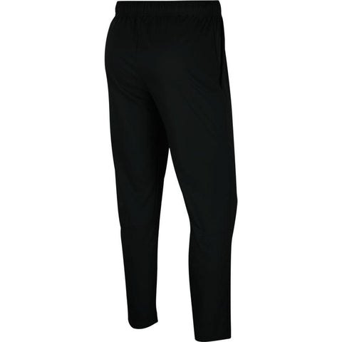 NIKE MEN'S DRI-FIT BLACK WOVEN TRAINING PANTS