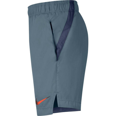 NIKE JUNIOR BLUE TRAINING SHORTS
