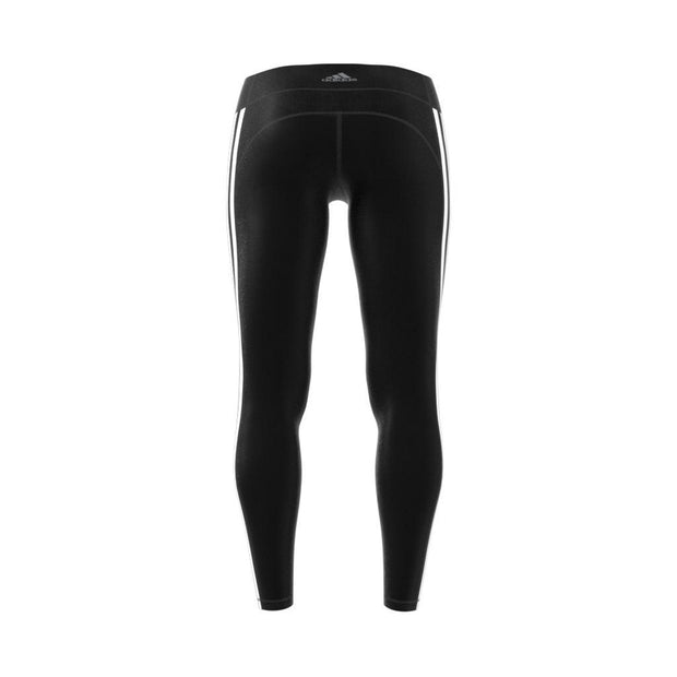 ADIDAS WOMEN'S TRAINING BELIEVE THIS 3-STRIPES BLACK TIGHTS - INSPORT