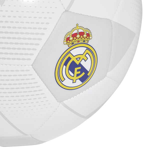 ADIDAS REAL MADRID WHITE SOCCER BALL - INSPORT