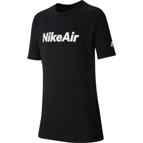 NIKE JUNIOR SPORTSWEAR BLACK T-SHIRT