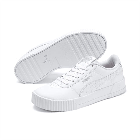 CARINA LEATHER WHITE SNEAKERS– INSPORT