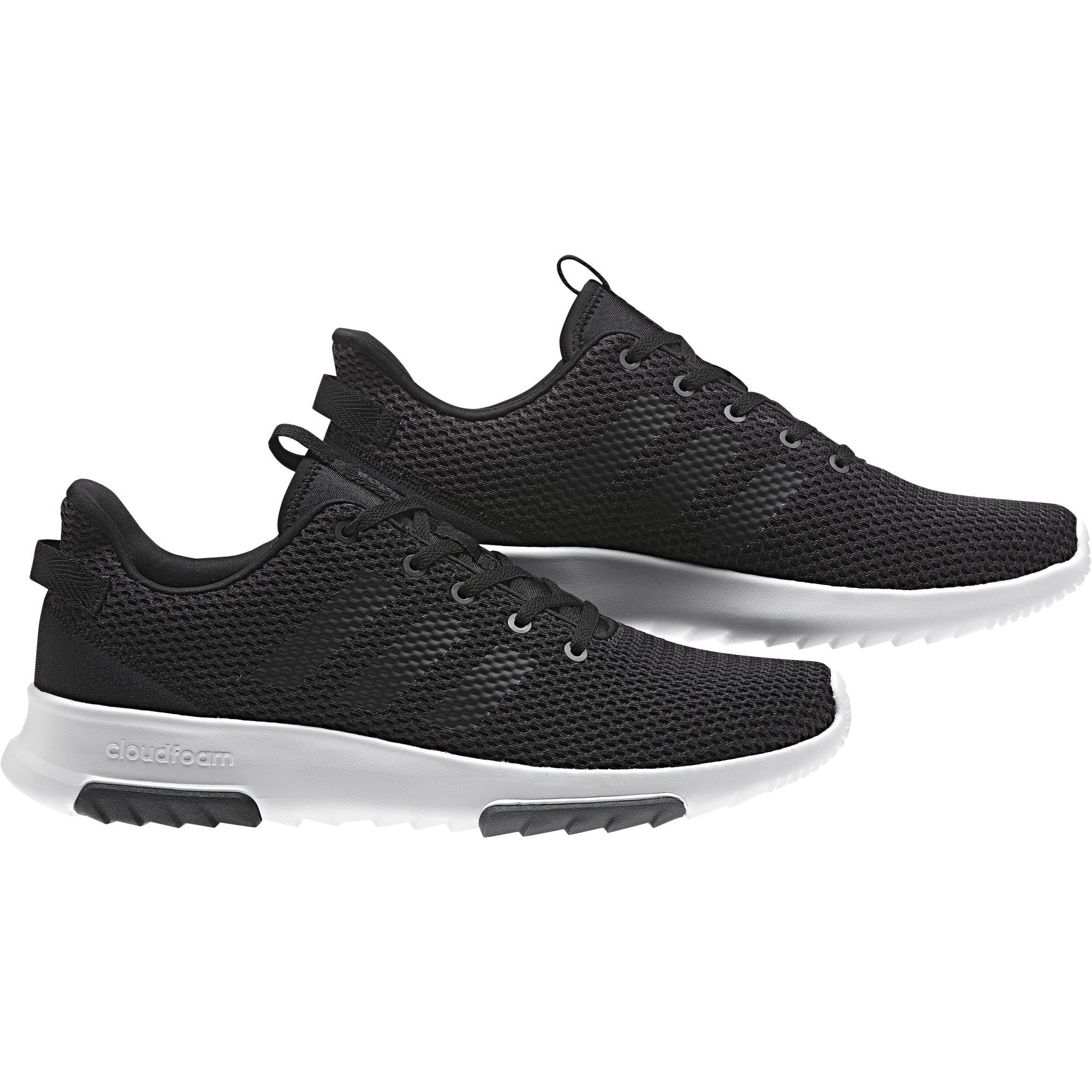 ADIDAS MEN'S SPORT INSPIRED CLOUDFOAM RACER TR BLACK SHOES