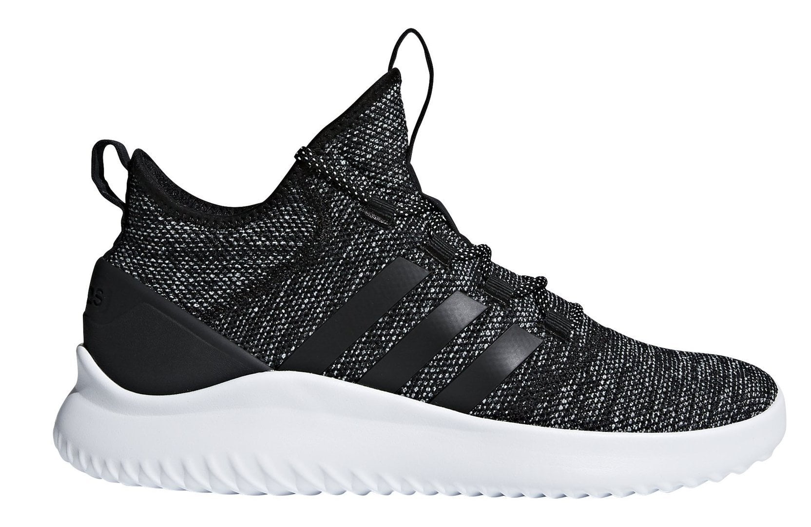 bc01d9a813a2 ADIDAS MEN S SPORT INSPIRED CLOUDFOAM ULTIMATE BLACK B-BALL SHOES - INSPORT