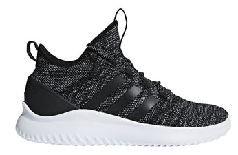 ADIDAS MEN'S SPORT INSPIRED CLOUDFOAM ULTIMATE BLACK B-BALL SHOES - INSPORT