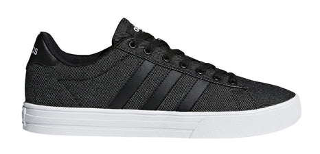ADIDAS MEN'S DAILY 2.0 BLACK CASUAL SHOES - INSPORT