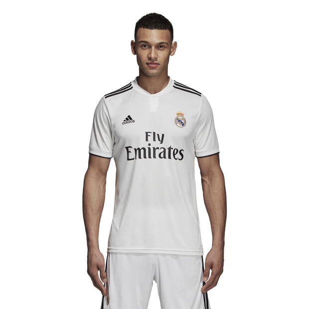 ADIDAS MEN'S FOOTBALL REAL MADRID HOME WHITE JERSEY - INSPORT