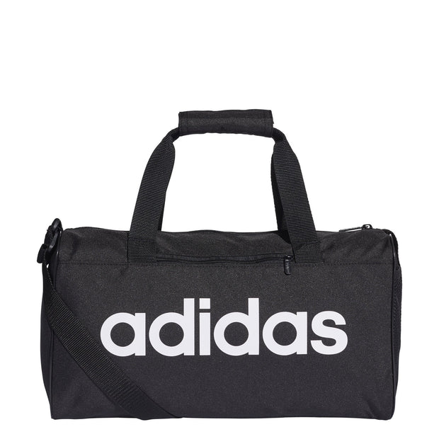 ADIDAS LINEAR CORE BLACK DUFFEL BAG (EXTRA SMALL)