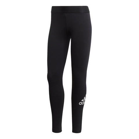 ADIDAS WOMEN'S ATHLETICS MUST HAVES BADGE OF SPORT BLACK TIGHTS