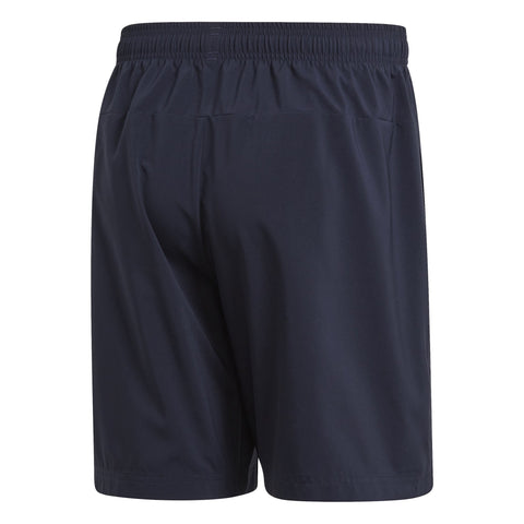 ADIDAS MEN'S LIFESTYLE ESSENTIALS LINEAR CHELSEA NAVY SHORTS