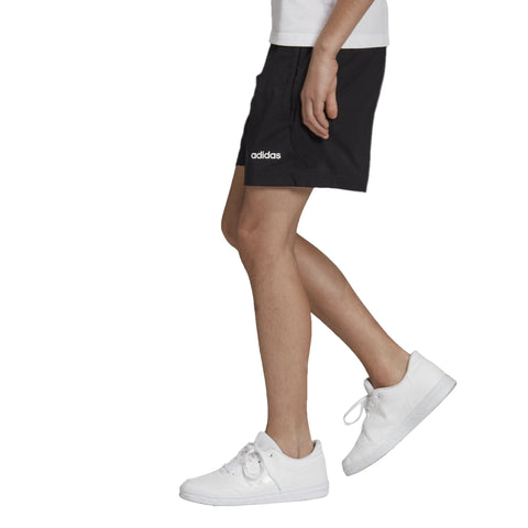 ADIDAS JUNIOR ESSENTIALS CLIMAHEAT BLACK SHORTS