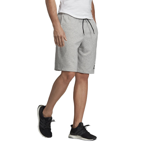 ADIDAS MEN'S ATHLETICS MUST HAVES BADGE OF SPORT GREY SHORTS
