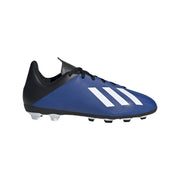 ADIDAS JUNIOR FOOTBALL X 19.4 FLEXIBLE BLUE GROUND BOOTS