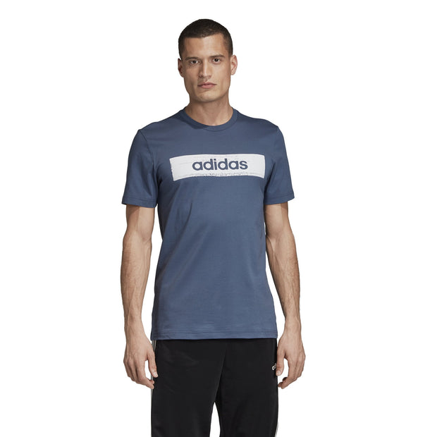 ADIDAS MEN'S BOX GRAPHIC INK TEE
