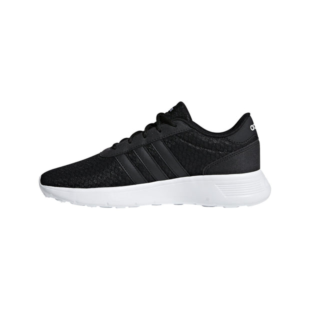 ADIDAS WOMEN'S ESSENTIALS LITE RACER BLACK SHOES