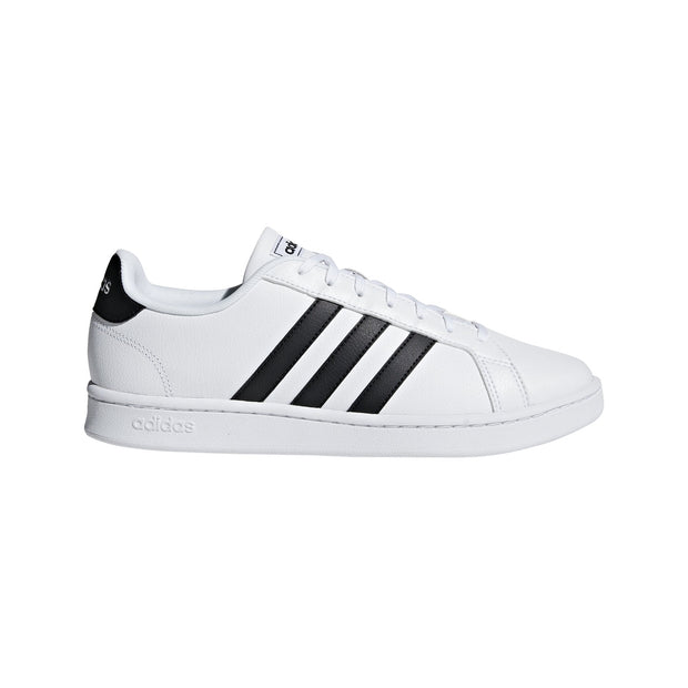 ADIDAS MEN'S GRAND COURT WHITE SHOES