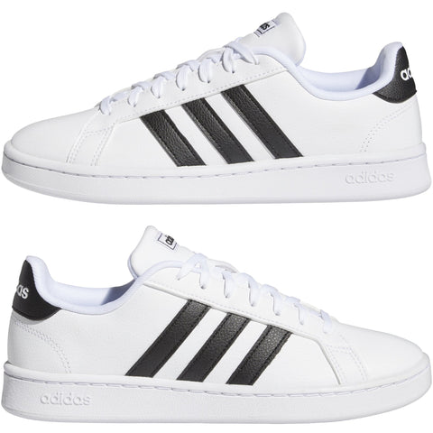 Adidas Women's Grand Court White Shoes