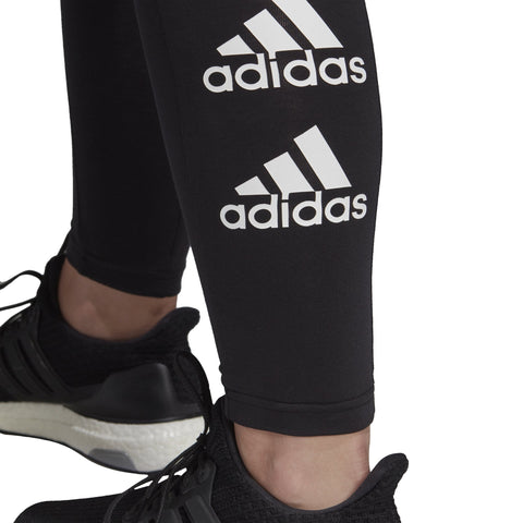 ADIDAS WOMEN'S MUST HAVES STACKED LOGO BLACK TIGHTS