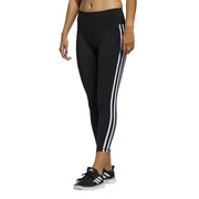ADIDAS WOMEN'S BELIEVE THIS 2.0 3-STRIPES 7/8 BLACK TIGHTS