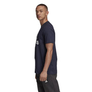 ADIDAS MEN'S MUST HAVES BADGE OF SPORT NAVY T-SHIRT