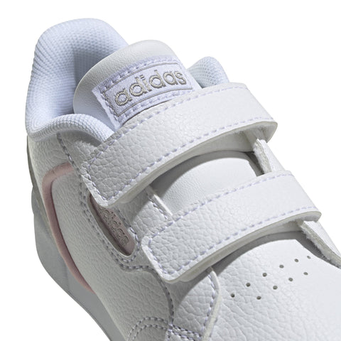 ADIDAS INFANT'S ROGUERA WHITE PINK SHOES