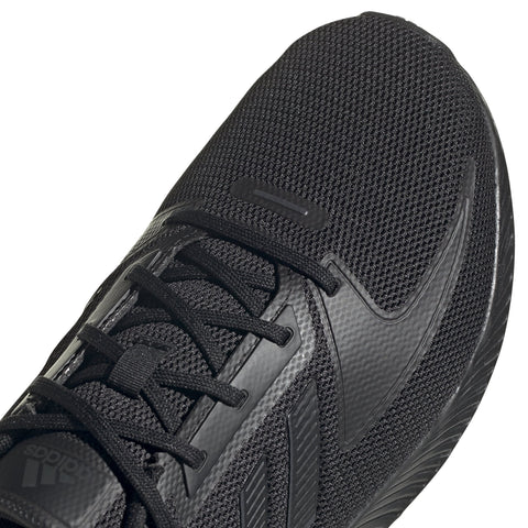 ADIDAS MEN'S RUN FALCON TRIPLE BLACK RUNNING SHOES