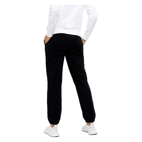 CHAMPION WOMEN'S SCRIPT HIGH WAISTED BLACK TRACKPANTS