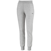 PUMA WOMEN'S ESSENTIAL KNITTED GREY TRACKPANTS