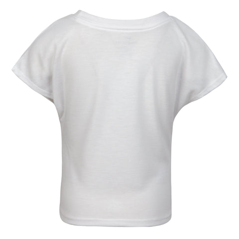 NIKE TODDLER'S SPLIT WHITE TEE