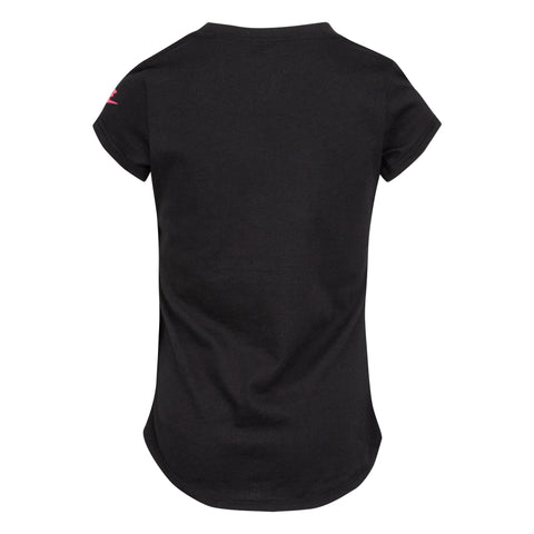 NIKE TODDLER'S ICON CLASH BLACK TEE