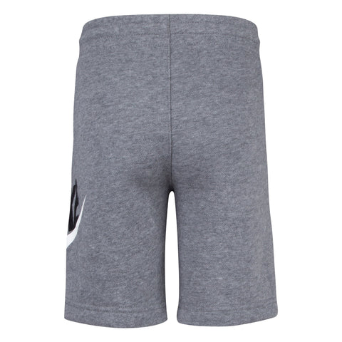 NIKE TODDLER'S CLUB HBR GREY SHORTS