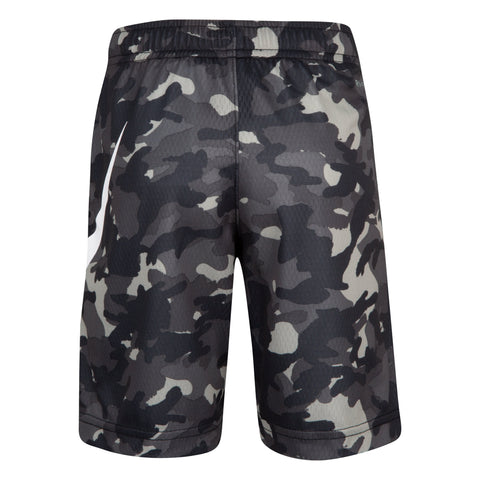NIKE TODDLER'S DR-FIT CAMO BLACK SHORTS