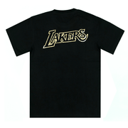 MITCHELL AND NESS MEN'S LA LAKERS BLACK/GOLD TEE