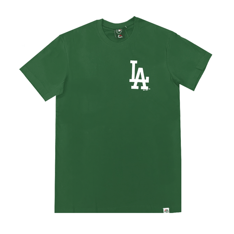 MITCHELL AND NESS MEN'S JEANER LA GREEN TEE