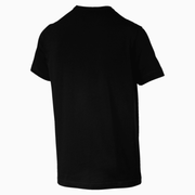 PUMA MEN'S ESSENTIAL SMALL LOGO BLACK TEE