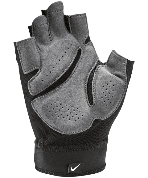 NIKE MEN'S ELEMENTAL MIDWEIGHT BLACK GYM GLOVES