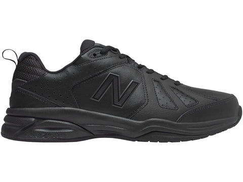 NEW BALANCE MEN'S 624 BLACK SHOES (2E WIDE)