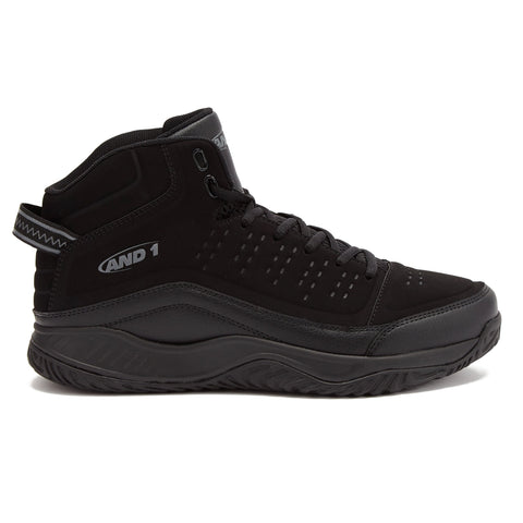 And1 Men's Pulse 2.0 Black Basketball Shoes