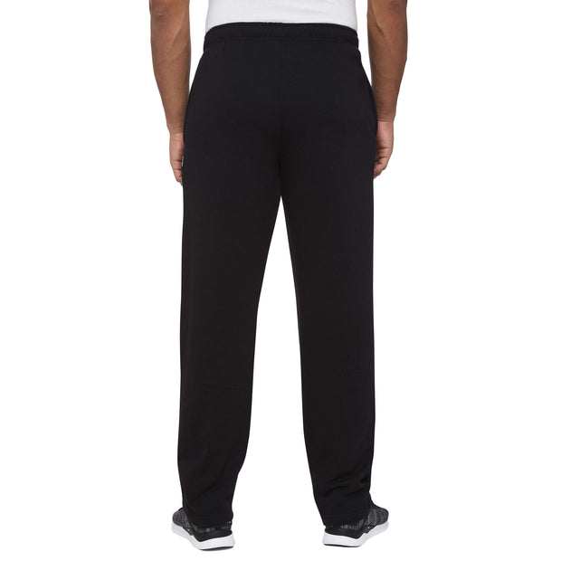 MEN'S ASPEN BLACK OPEN LEG TRACKPANTS