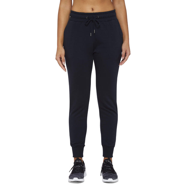 INSPORT ATHLETIC APPAREL WOMEN'S CHLOE SLIM FIT NAVY TRACKPANTS