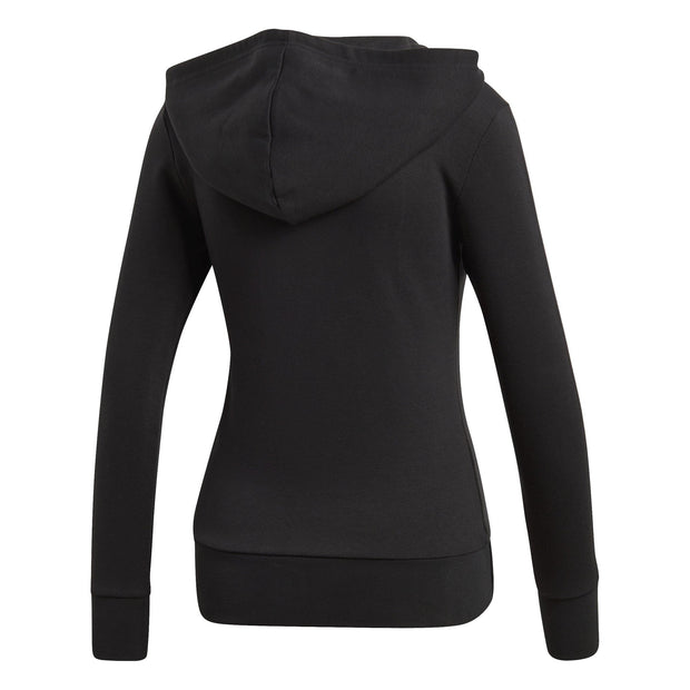 ADIDAS WOMEN ESSENTIALS 3-STRIPES BLACK JACKET - INSPORT