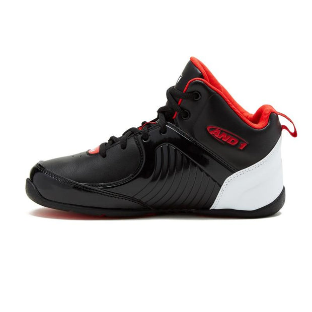 AND-1 KIDS TSUNAMI BLACK BASKETBALL SHOES - INSPORT